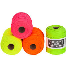 Fil textile buttinette, tons fluo, 450 g