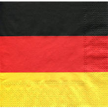 Papierserviette 'Germany'