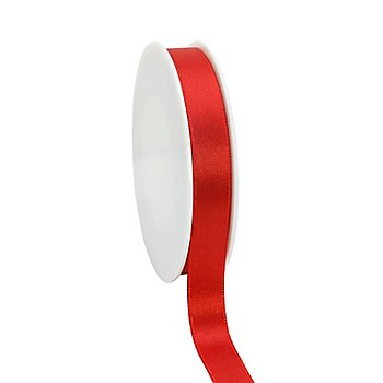 Satinband, rot, 15 mm, 20 m