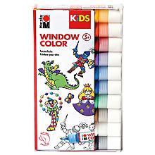 Marabu Window Color-Set Grundfarben