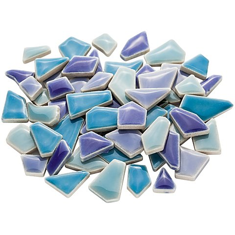 Flip Ceramic-Mosaik mini, blau-mix