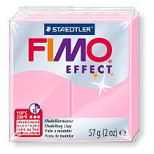 Fimo effect, rosa, 57 g