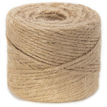 Cordon de jute, nature, 3,5 mm, 200 g
