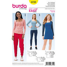 burda Schnitt 6722 'Shirt Young'