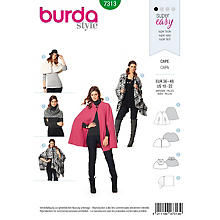 burda Patron 7313 'Cape Young'