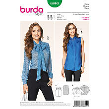 Patron burda 6840 'blouse'