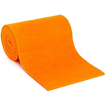 Ruban multi-usage en laine, orange, 13 cm, 1,5 m