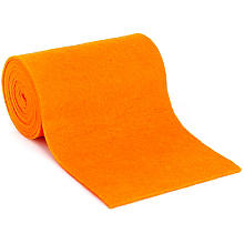 Filzband, orange, 13 cm, 1,5 m
