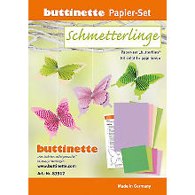 Papier-Set 'Schmetterlinge', 12 Schmetterlinge