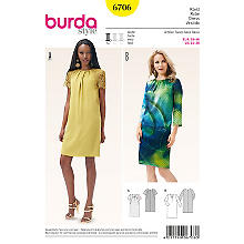 burda Patron 'robe'