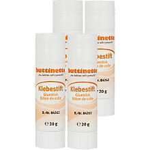 4er Pack buttinette Klebestift 20g