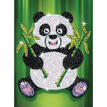 Sequin Art Paillettenbild 'Panda'