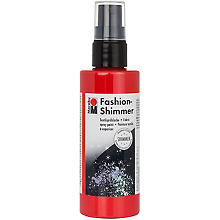 Marabu Fashion-Spray Shimmer, rot, 100 ml