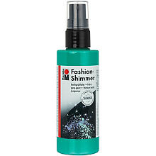 Marabu Fashion-Spray Shimmer, aqua, 100 ml
