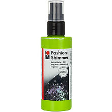 Marabu Fashion-Spray Shimmer, grün, 100 ml