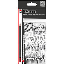 Graphix Set de crayons, 12 pcs.