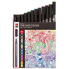 Graphix Fineliner Colour 'Doodle Supreme', 12 tlg.