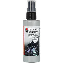 Marabu Fashion-Spray Shimmer, silber, 100 ml