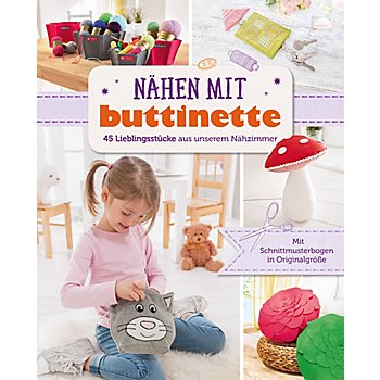 buch n hen mit buttinette online kaufen buttinette. Black Bedroom Furniture Sets. Home Design Ideas