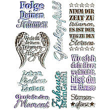 Silikonstempel-Set