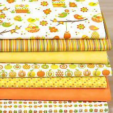 Patchwork- und Quiltpaket Ostern, orange