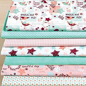 Patchwork- und Quiltpaket 'Great Love'