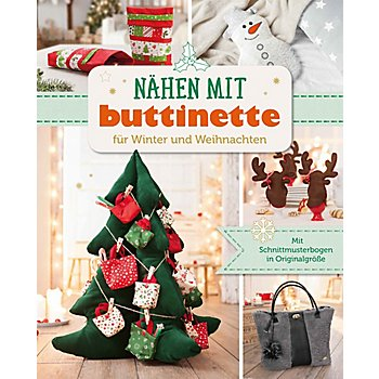 buch n hen mit buttinette f r winter und weihnachten. Black Bedroom Furniture Sets. Home Design Ideas