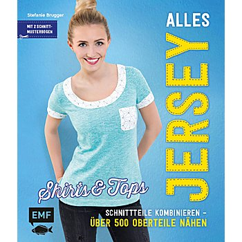 Buch 'Alles Jersey - Shirts & Tops'
