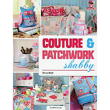 Livre 'Couture & Patchwork shabby'