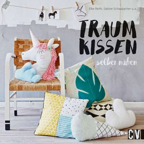 buch traumkissen selber n hen online kaufen buttinette bastelshop. Black Bedroom Furniture Sets. Home Design Ideas