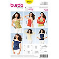 "burda Schnitt 6925 ""Shirt & Bolero Young"""
