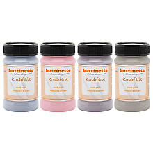 buttinette Set de peintures à la craie, modernes, 4x 100 ml