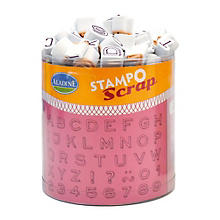 STAMPO Tampons 'lettres et chiffres'