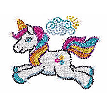 Sequin Art Paillettenbild 'Einhorn'