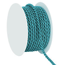 Cordelette, turquoise, 4 mm, 10 m