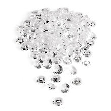 Diamants déco, transparent, 100 ml