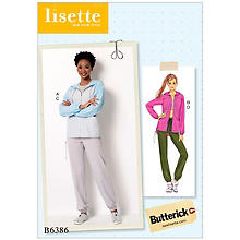 Butterick Patron B6386 'jogging', taille 36 - 42