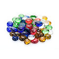 Glas-Nuggets-Mix, bunt, 15 - 20 mm, 1 kg