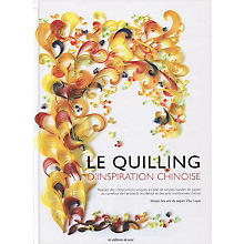Livre 'Le quilling d'inspiration chinoise'