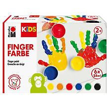 mara Fingerfarbenset, 6x 35 ml