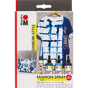 Marabu Fashion-Spray-Set 'Shibori Style', 3x 100 ml