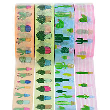 Ruban Washi Tape 'cactus', 15 mm, 32 m