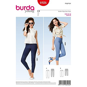 burda Schnitt 6926 'Jeggings Young'