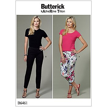 Butterick Schnitt B6461 'Stretch-Hose'