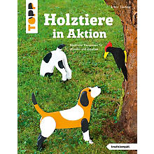 Buch 'Holztiere in Aktion'