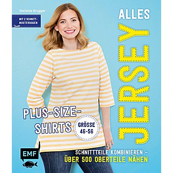 Buch 'Alles Jersey - Plus-Size-Shirts'
