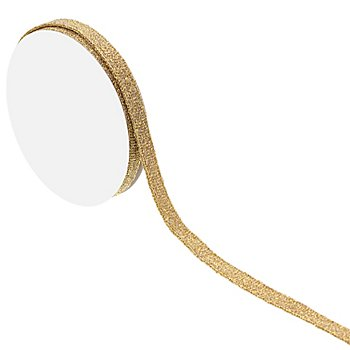 Schmales Band, gold, 10 mm, 5 m