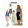 "Butterick Schnitt B6326 ""Rock-Variationen"""