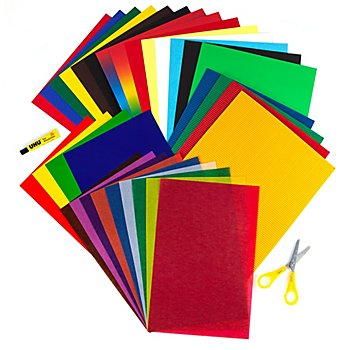 Papier-Mix-Set, 34-teilig