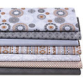 "Patchwork- und Quiltpaket ""Metallic-Look Kupfer"", grau-color"